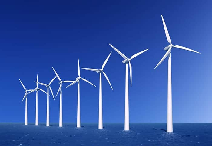 england scotland wales and ireland onshore and offshore wind farm installations